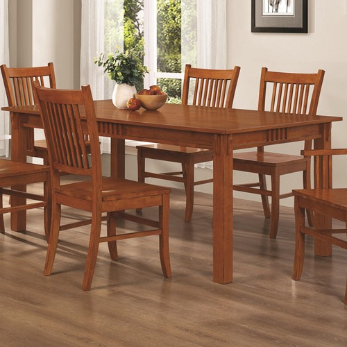 Marbrisa 05 Pc Rectangular Dining Table By Coaster Furniture Expo Outlet