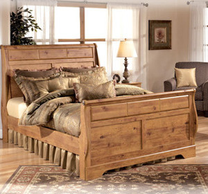 Bittersweet-B219-Queen-Sleigh-Bed-Ashley