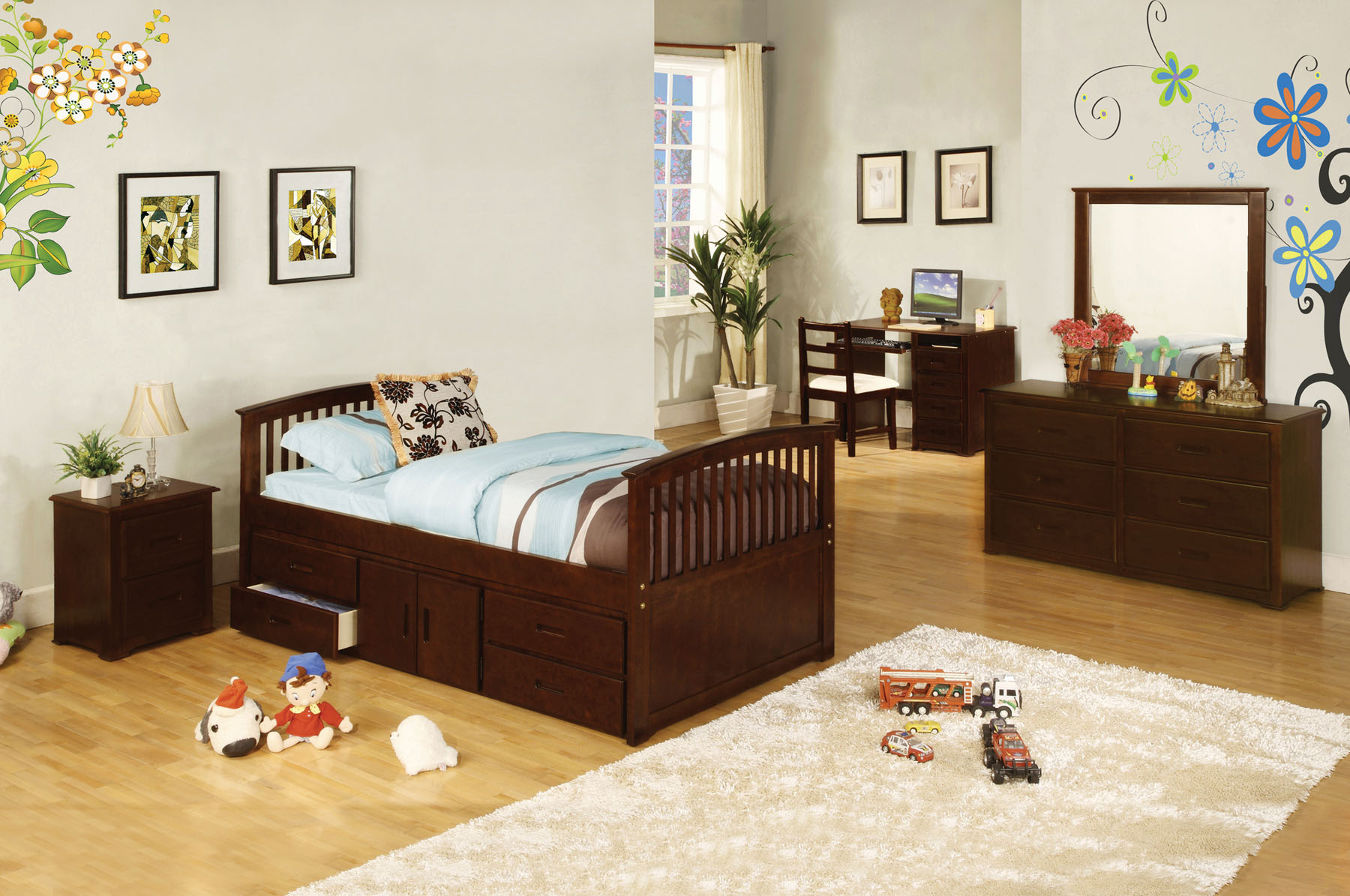 Caballero Twin Bed By Import Direct Furniture Expo Outlet