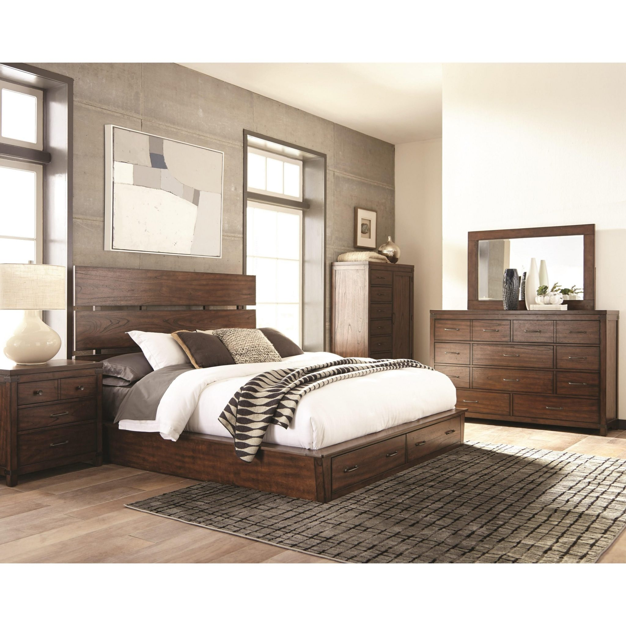 Artesia Queen Set 4 Pc By Coaster Furniture Expo Outlet