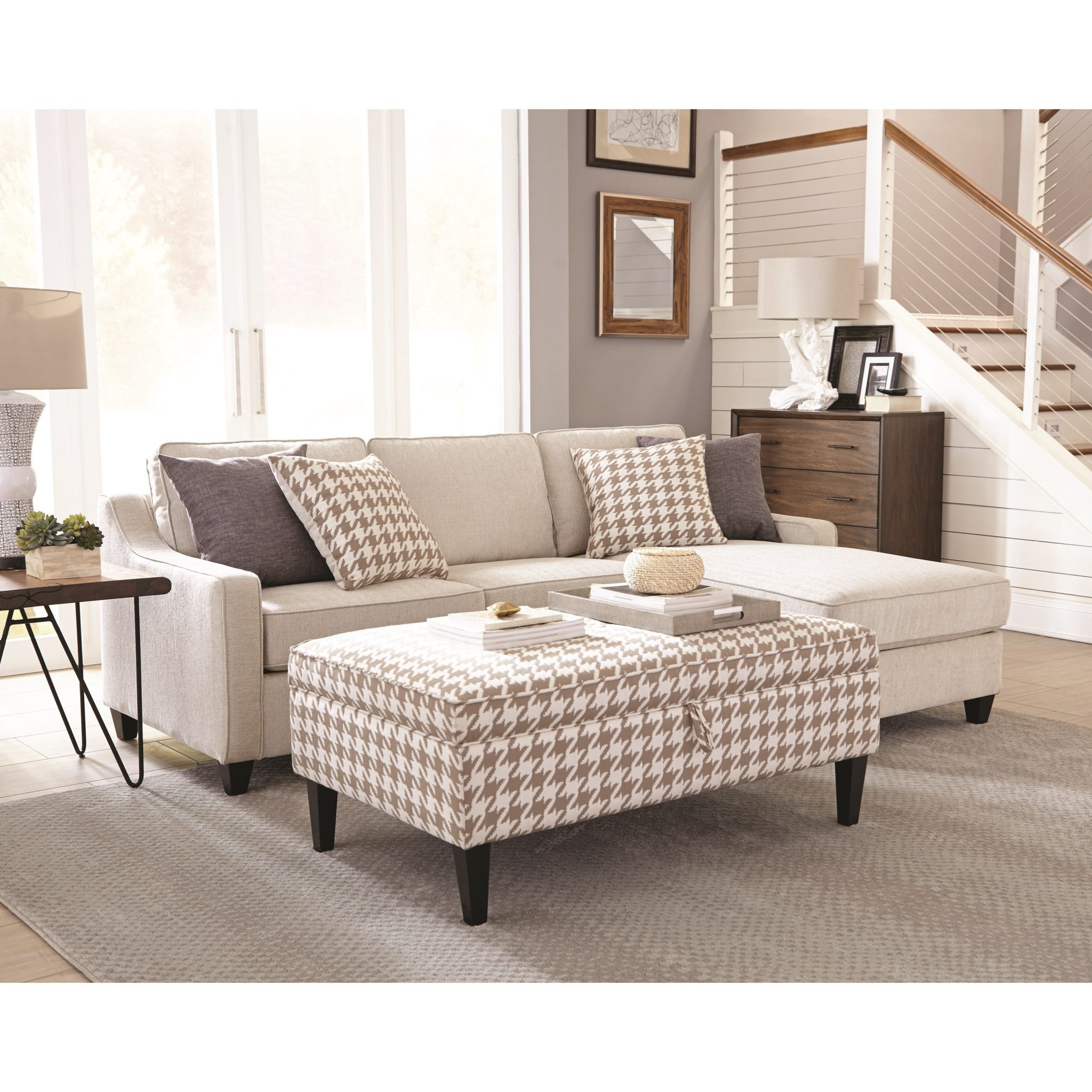 Montgomery Modern Sectional By Coaster Furniture Expo Outlet